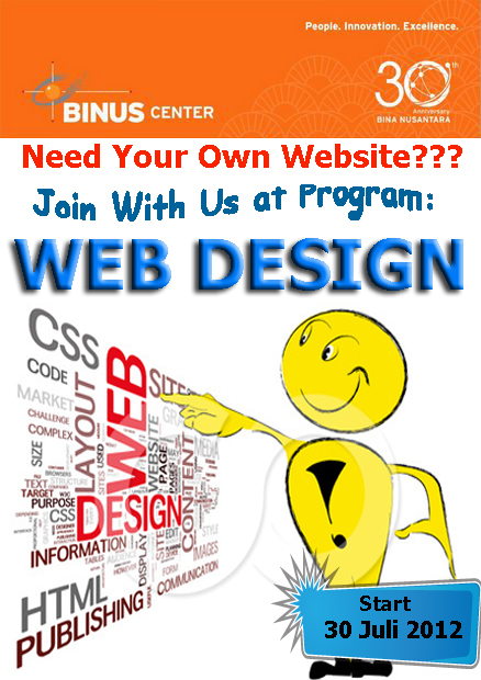 IT TRAINING_WEB DESIGN 30 Juli 2012