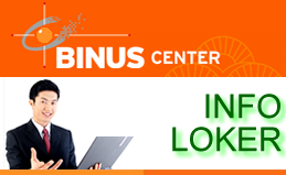 Info Loker: Binus Career Periode 5 – 12 April 2015