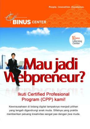 Program Kursus Web Programming & Web Design (Sertifikasi Internasional Microsoft &Adobe)