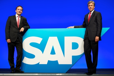 SAP AG general meeting of shareholders on May 25, 2011 at SAP Arena in Mannheim, Germany.
